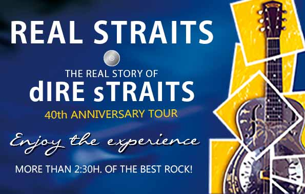 "Real Straits ""The Real Story of dIRE sTRAITS"" 40th Anniversary - Jimmy Jazz Gasteiz"