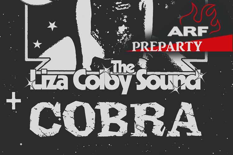 """ARF preparty """"LIZA COLBY SOUND + COBRA"""" - Jimmy Jazz Gasteiz"""