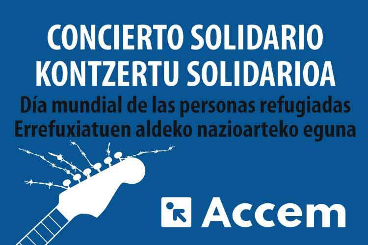 Día Mundial de las Personas Refugiadas CONCIERTO SOLIDARIO - Jimmy Jazz Gasteiz