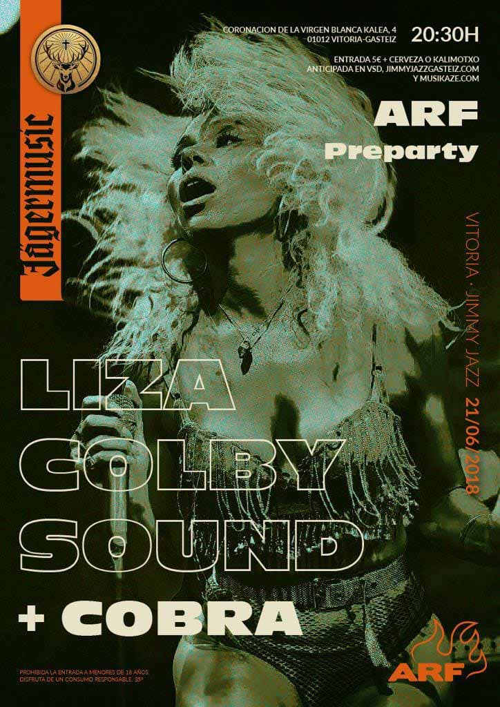 ARF preparty – LIZA COLBY SOUND + COBRA - Jimmy Jazz Gasteiz