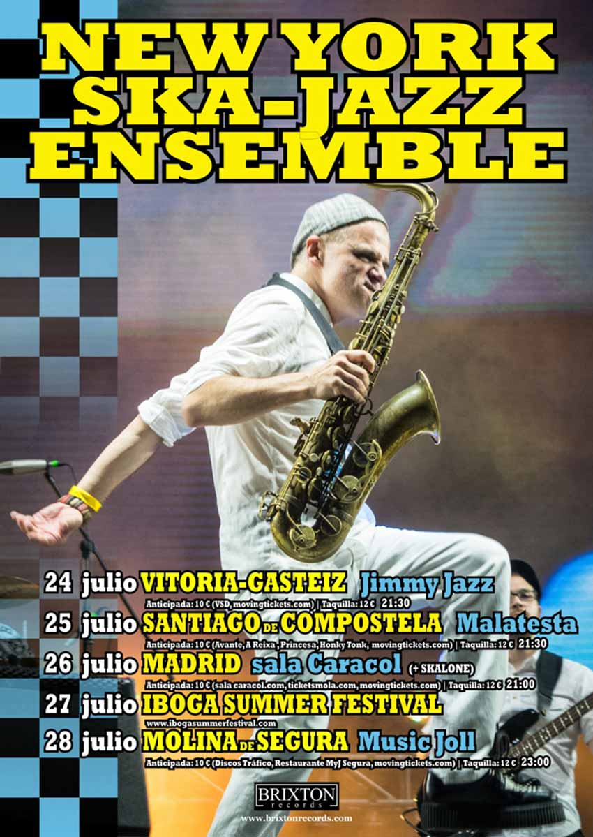 NEW YORK SKA-JAZZ ENSEMBLE - Jimmy Jazz Gasteiz
