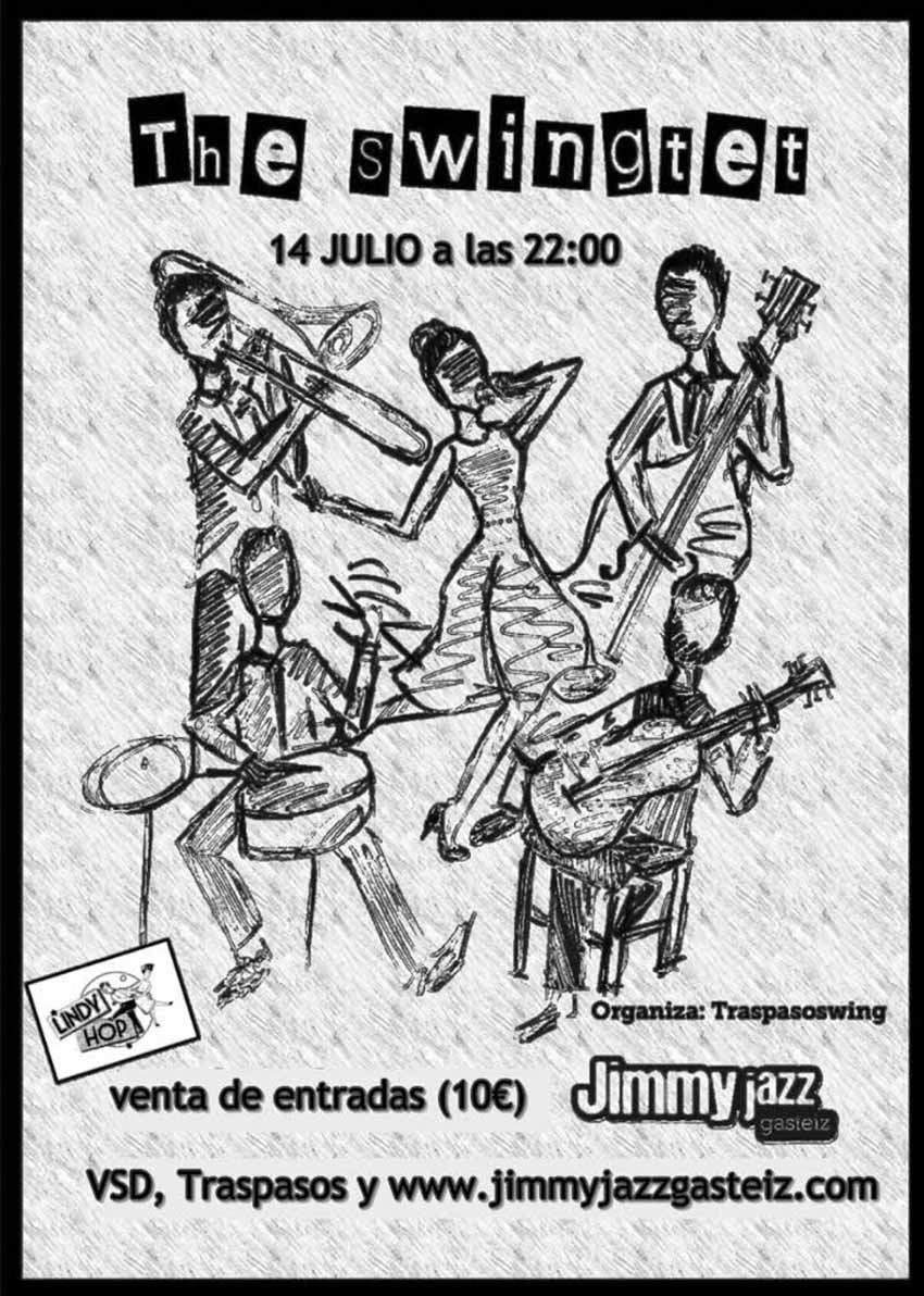 THE SWINGTET - Jimmy Jazz Gasteiz