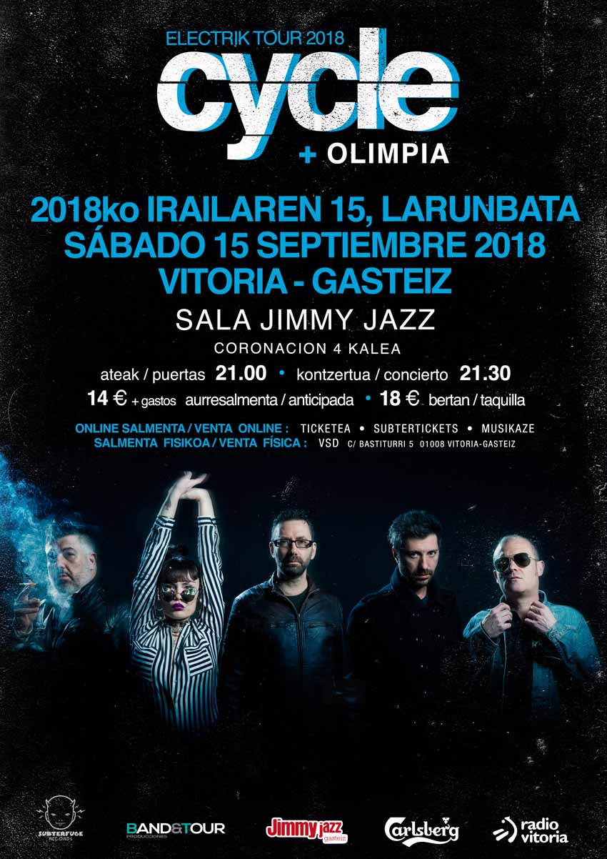 CYCLE + Olimpia - Jimmy Jazz Gasteiz