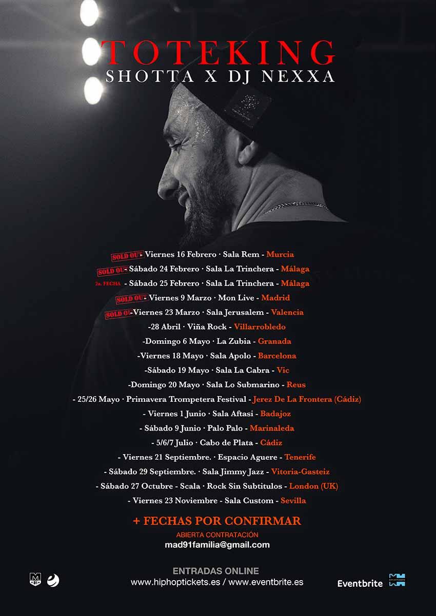 """TOTE KING """"LEBRON aurkezten"""" SHOTTA eta DJ NEXXA-rekin - Jimmy Jazz Gasteiz"""