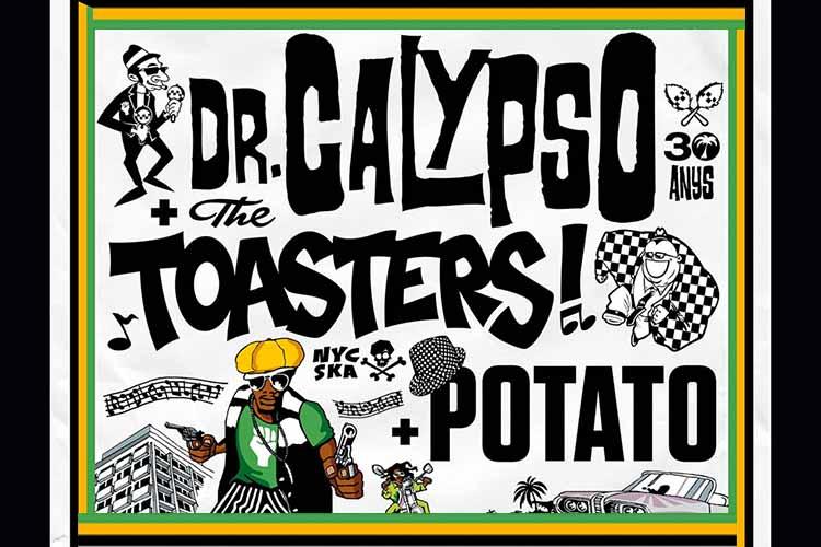 DR. CALYPSO + THE TOASTERS + POTATO - Jimmy Jazz Gasteiz