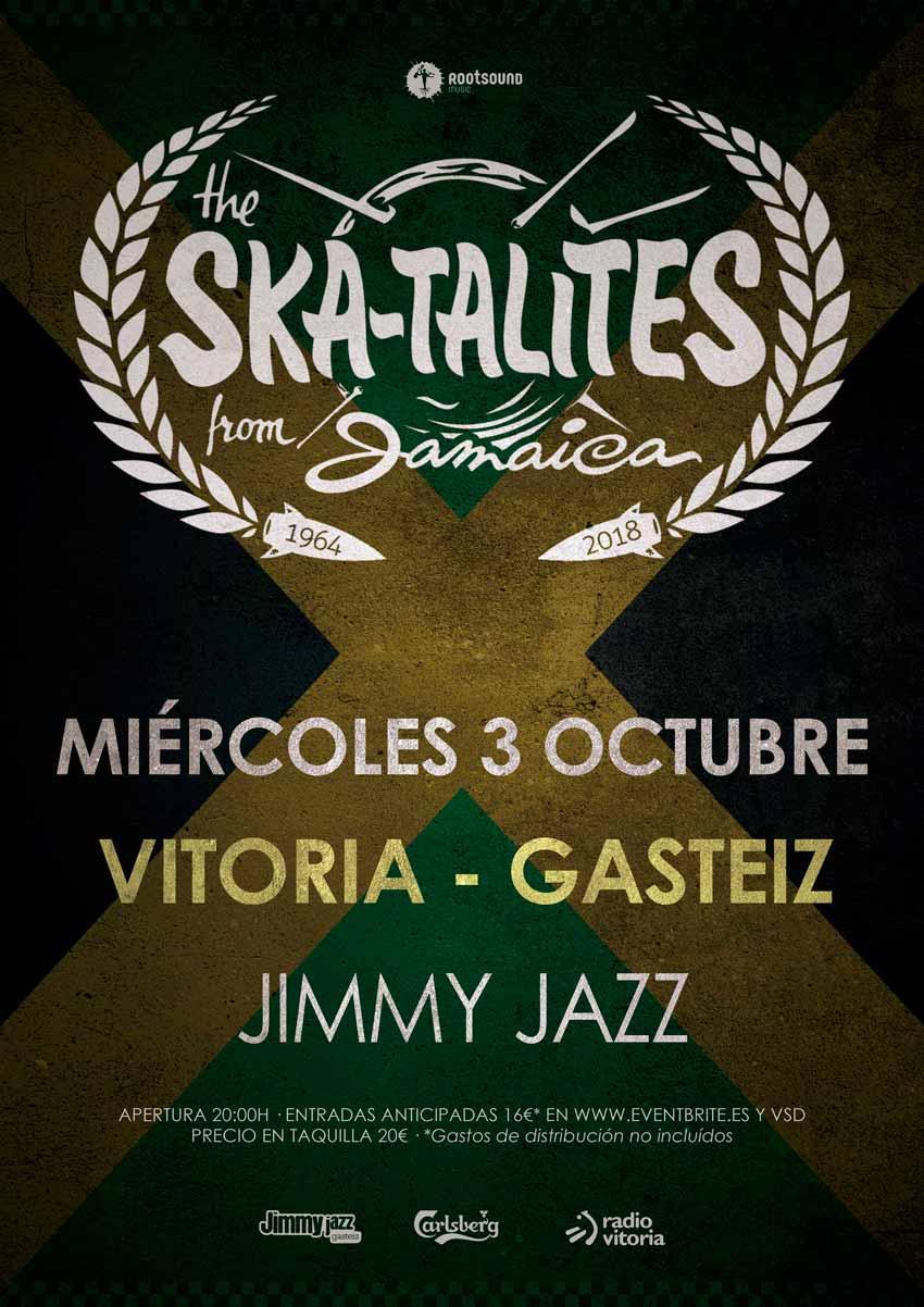 SKATALITES + Artista invitado - Jimmy Jazz Gasteiz