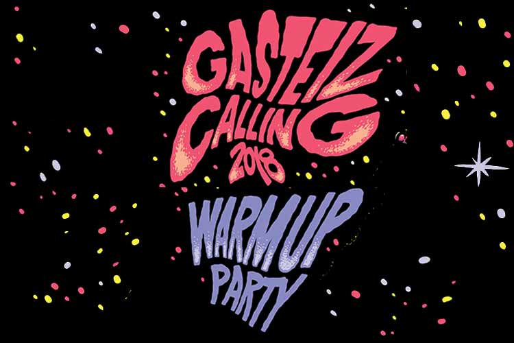 WARM UP PARTY GASTEIZ CALLING 2018 - Jimmy Jazz Gasteiz