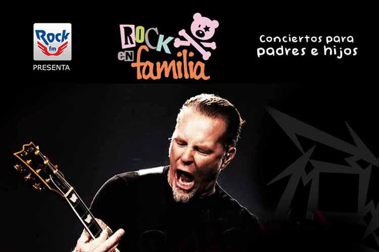 Rock en Familia - descubriendo a METALLICA - Jimmy Jazz Gasteiz