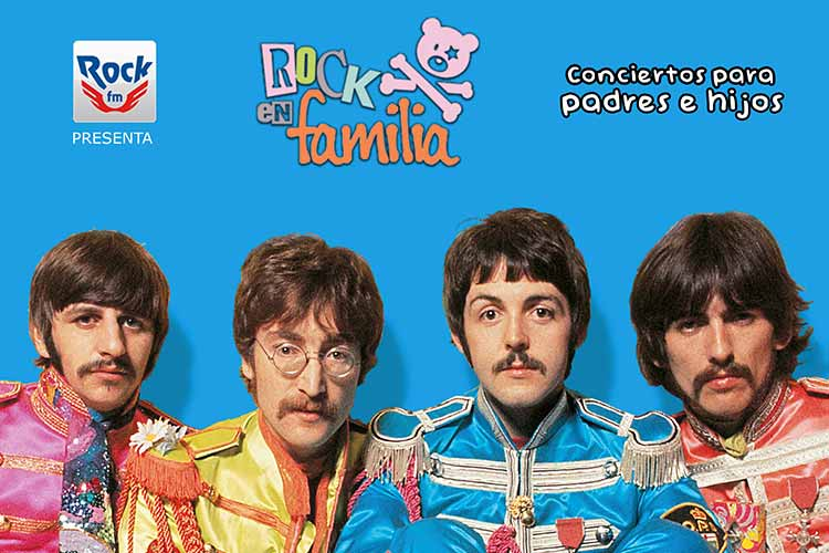 Rock en Familia - descubriendo a THE BEATLES - Jimmy Jazz Gasteiz