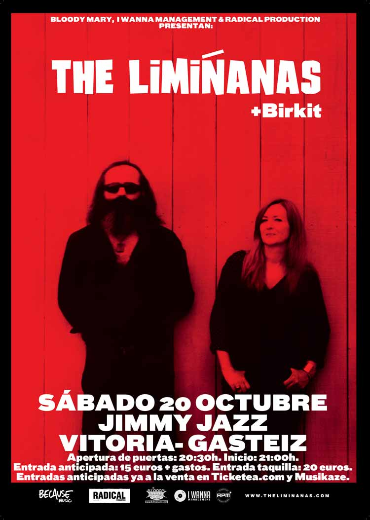 THE LIMIÑANAS + Birkit - Jimmy Jazz Gasteiz