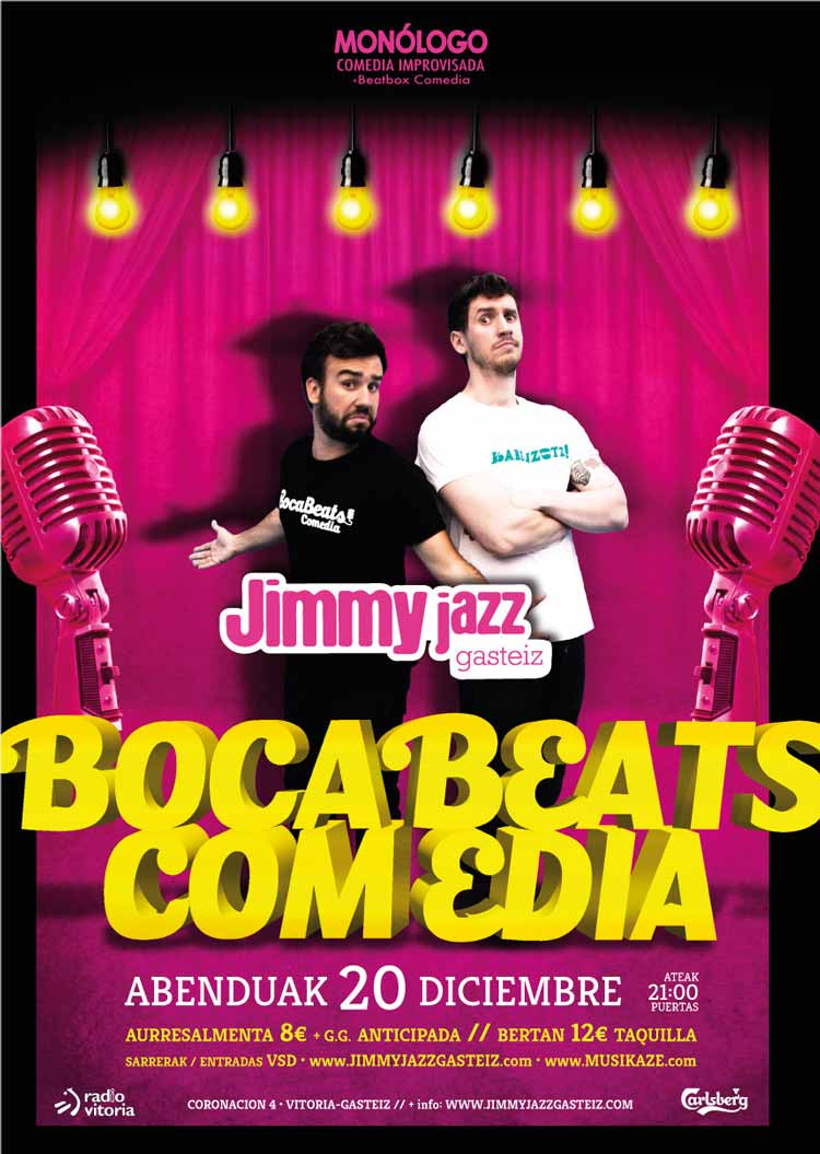 BOCABEATS COMEDIA - Jimmy Jazz Gasteiz