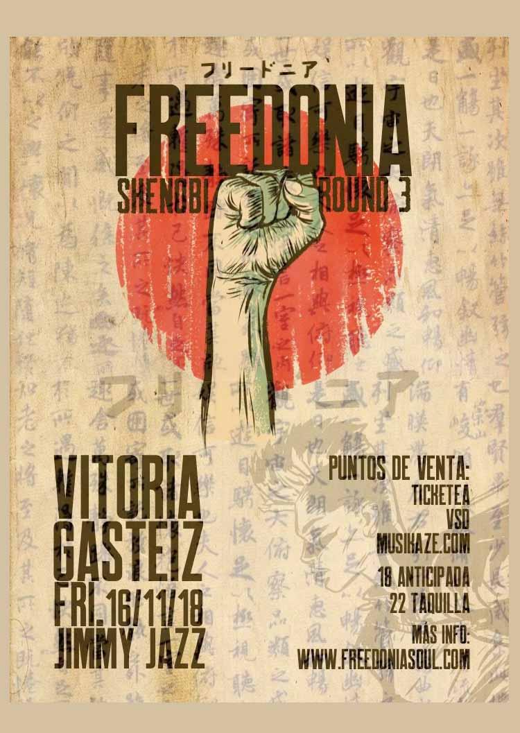 Freedonia - Jimmy Jazz Gasteiz