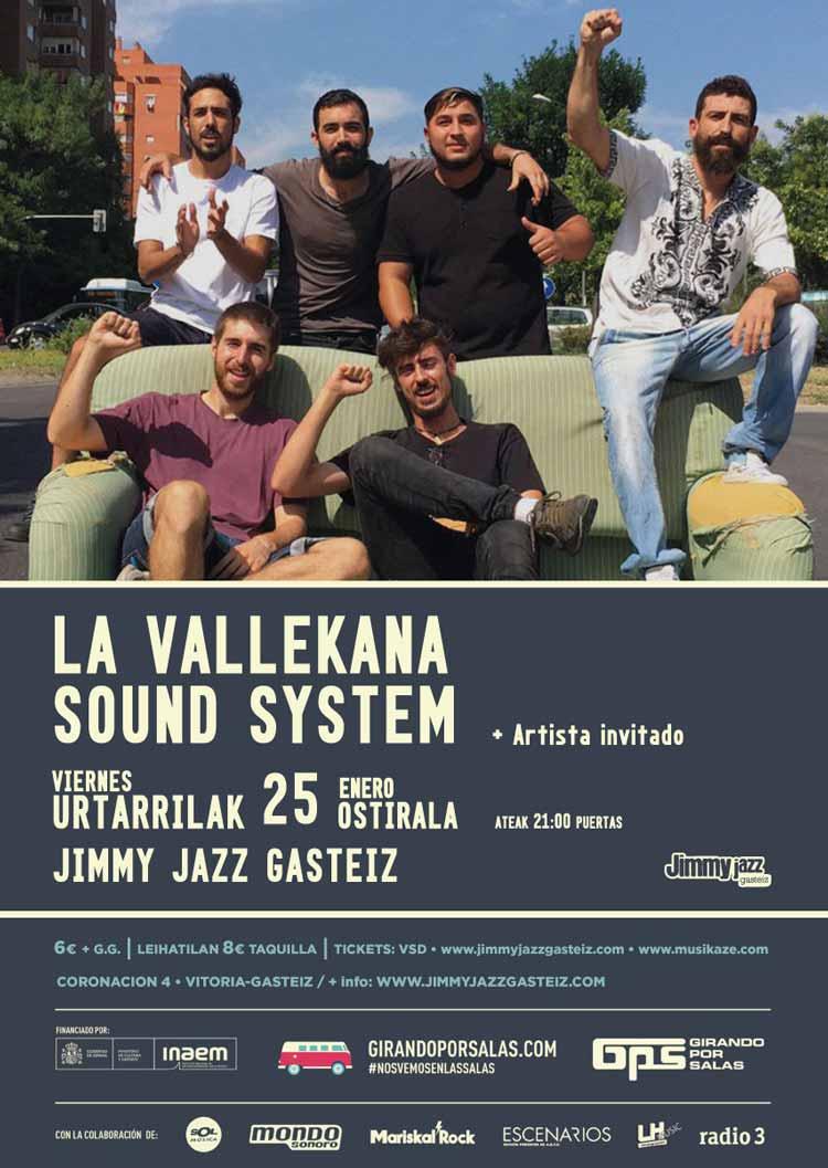 LA VALLEKANA SOUND SYSTEM - Jimmy Jazz Gasteiz