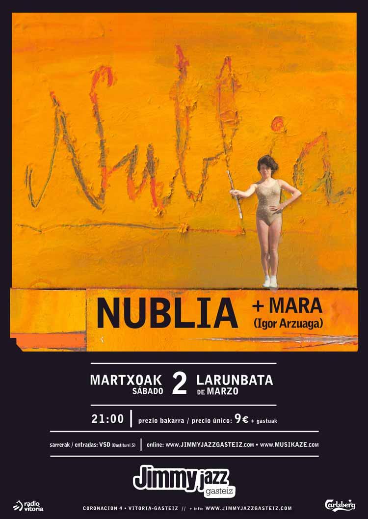 NUBLIA + Mara (Igor Arzuaga) - Jimmy Jazz Gasteiz