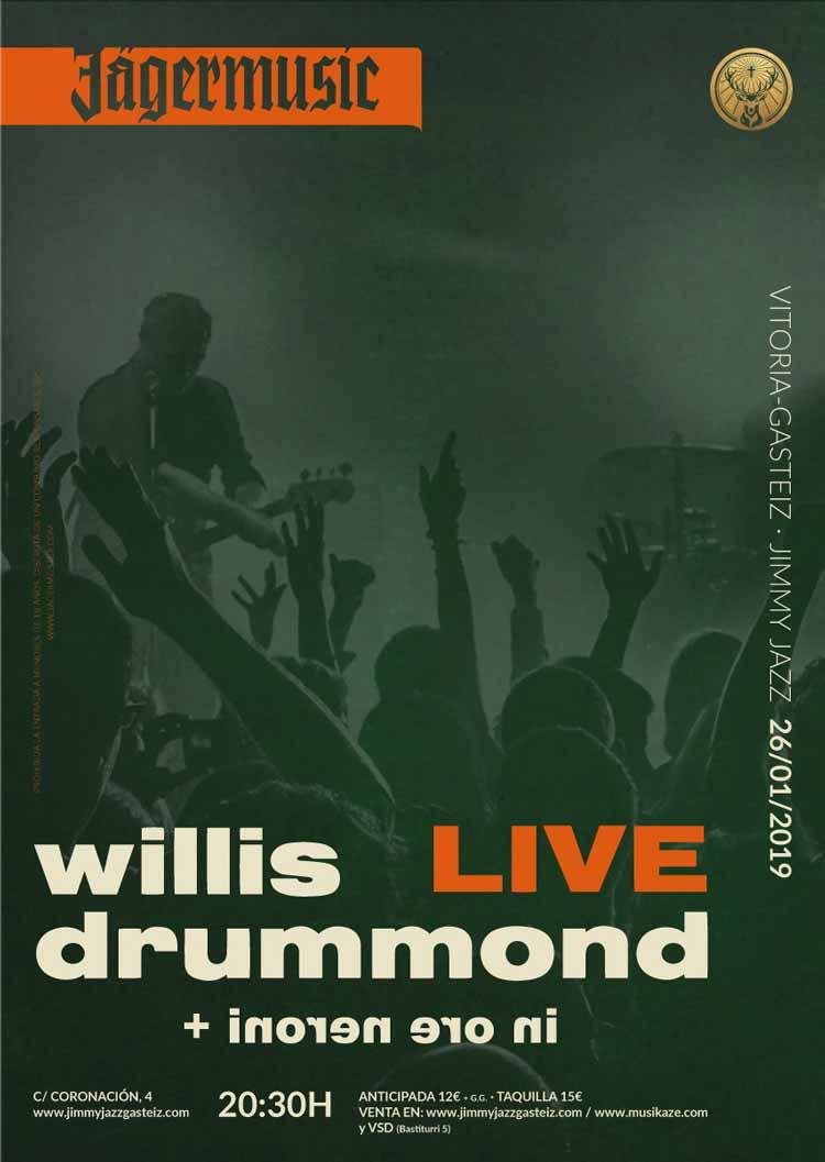 WILLIS DRUMMOND + Inoren Ero Ni - Jimmy Jazz Gasteiz