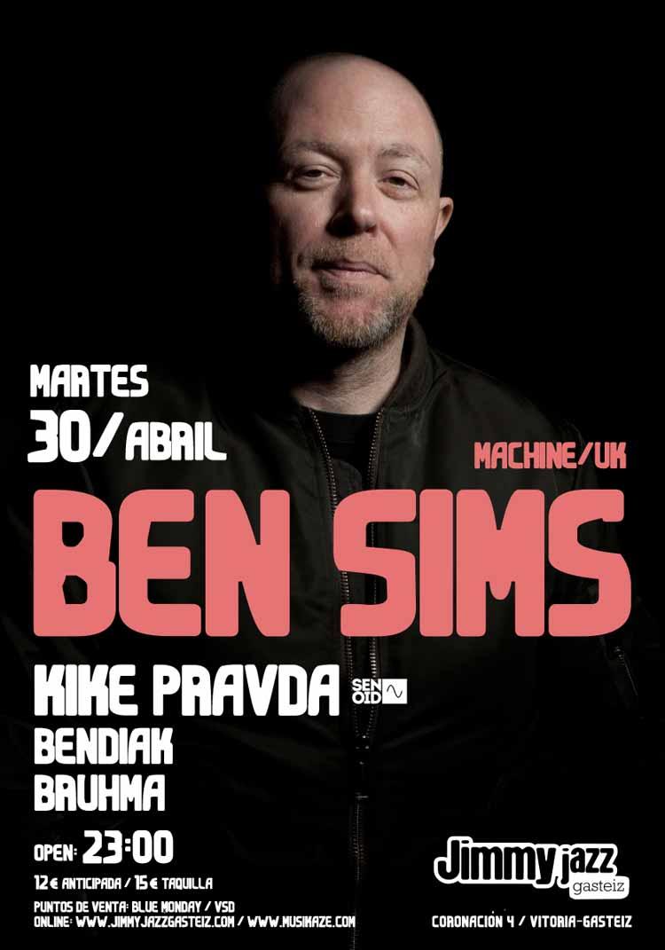 BEN SIMS + Kike Pravda + Bendiak + Bruhma # JjUPstairs