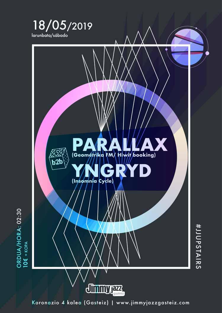 Parallax + Yngryd # JjUPstairs