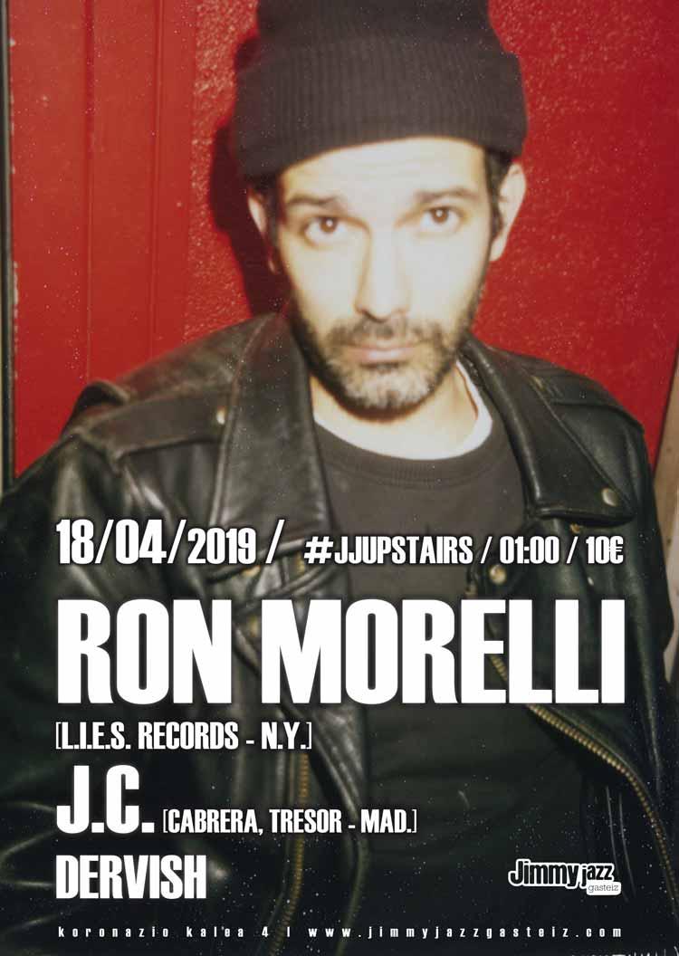 Ron Morelli + J.C. + Dervish # JjUPstairs
