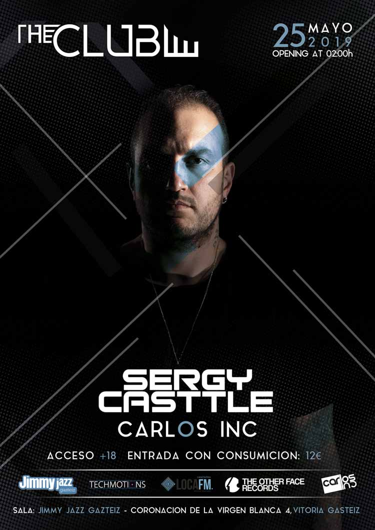 The KLUB: SERGY CASTTLE + Carlos INC #JjUPstairs