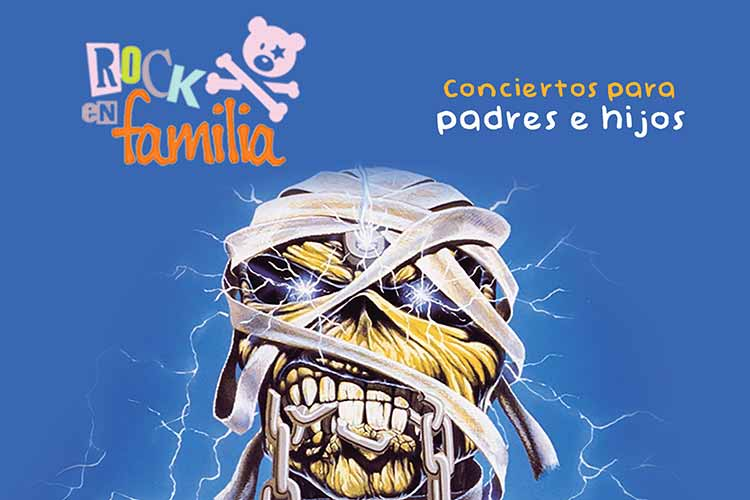 Rock en Familia – descubriendo a IRON MAIDEN - Jimmy Jazz Gasteiz