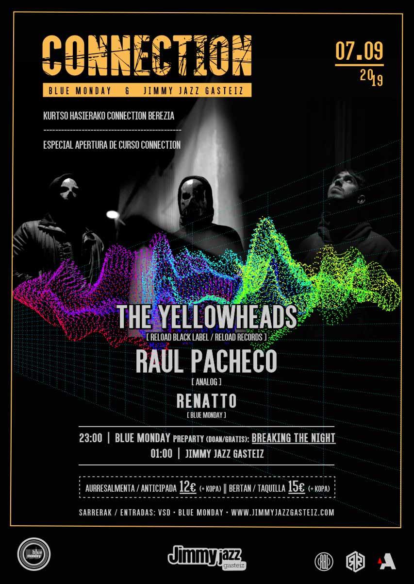 Connection: The Yellowheads + Raul Pacheco + Renatto #JjUPstairs