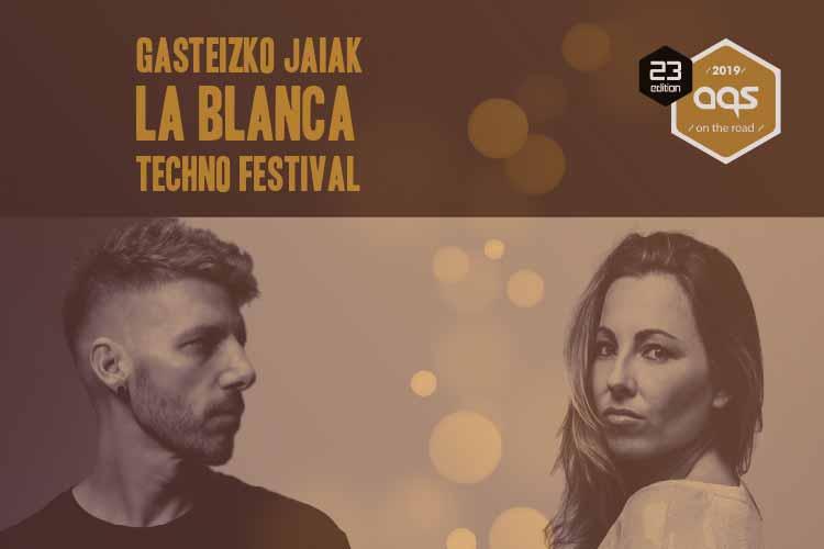 GASTEIZKO JAIAK 'LA BLANCA' TECHNO FESTIVAL 2019 #Jimmy Jazz Kluba