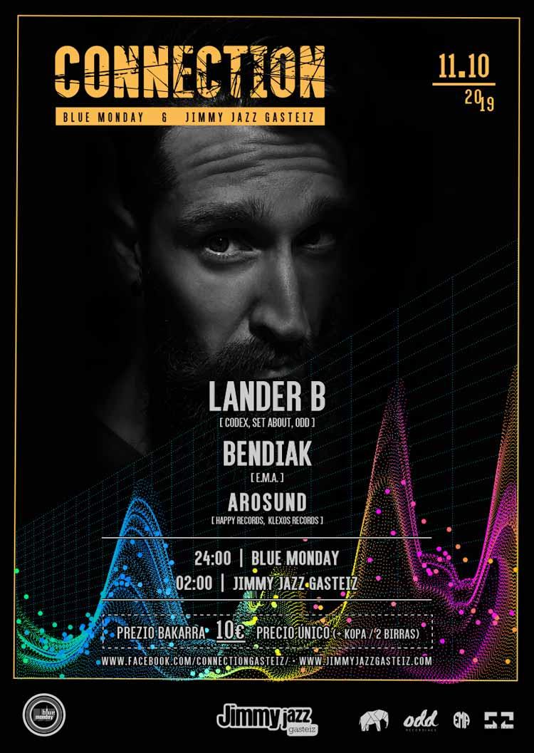Connection: Lander B + Bendiak + Arosound #JjUPstairs