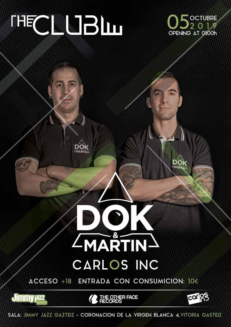 The KLUB: DOK & MARTIN + Carlos INC #JjUPstairs