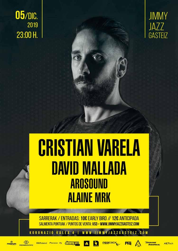Cristian Varela + David Mallada + Arosound + Alaine Mrk - Jimmy Jazz Gasteiz