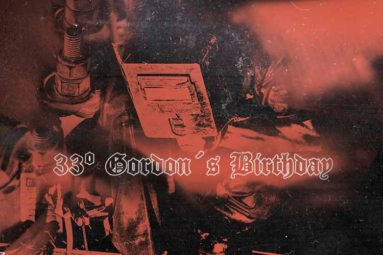 33 GORDON'S B'day: ANDRÉX CASTRO + BLUENOSE + KUROHYO + MIKE VILLAS + OPERARIO 48 - #JjUPstairs