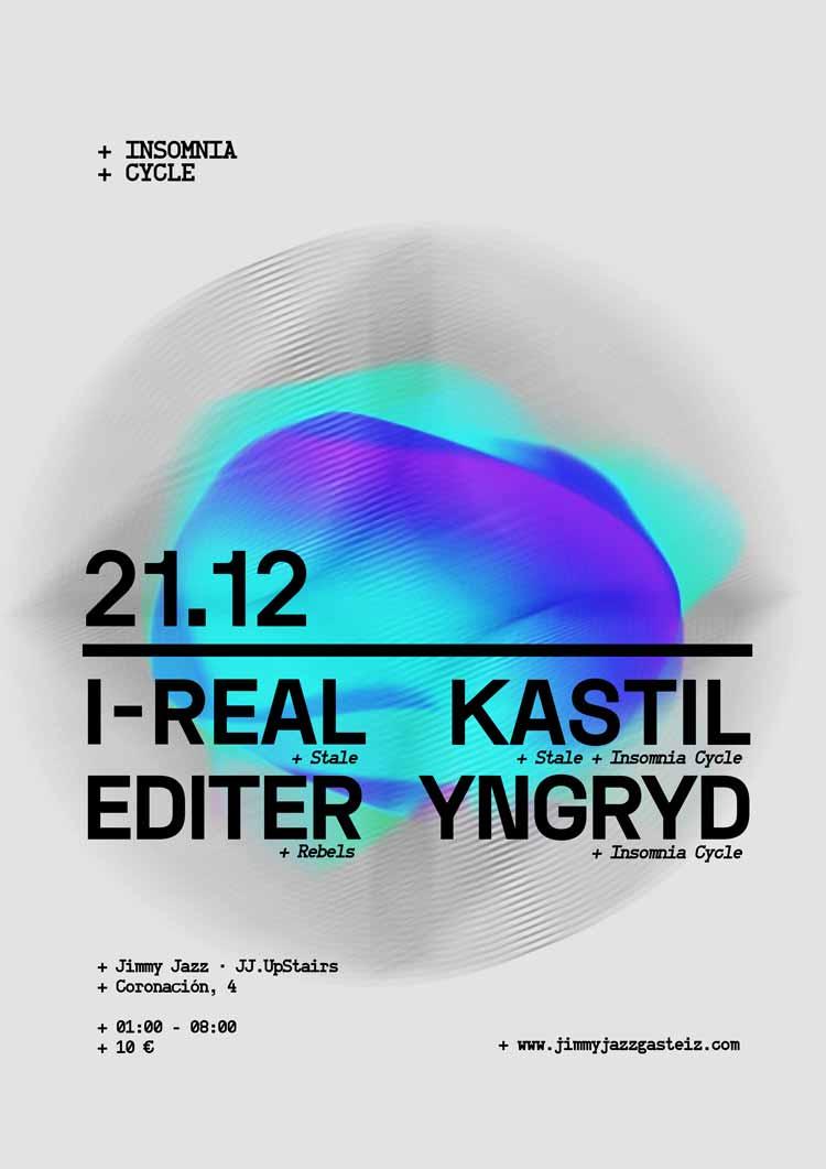 INSOMNIA CYCLE - UMWELT + Kastil + Monika Elektra # JjUPstairs