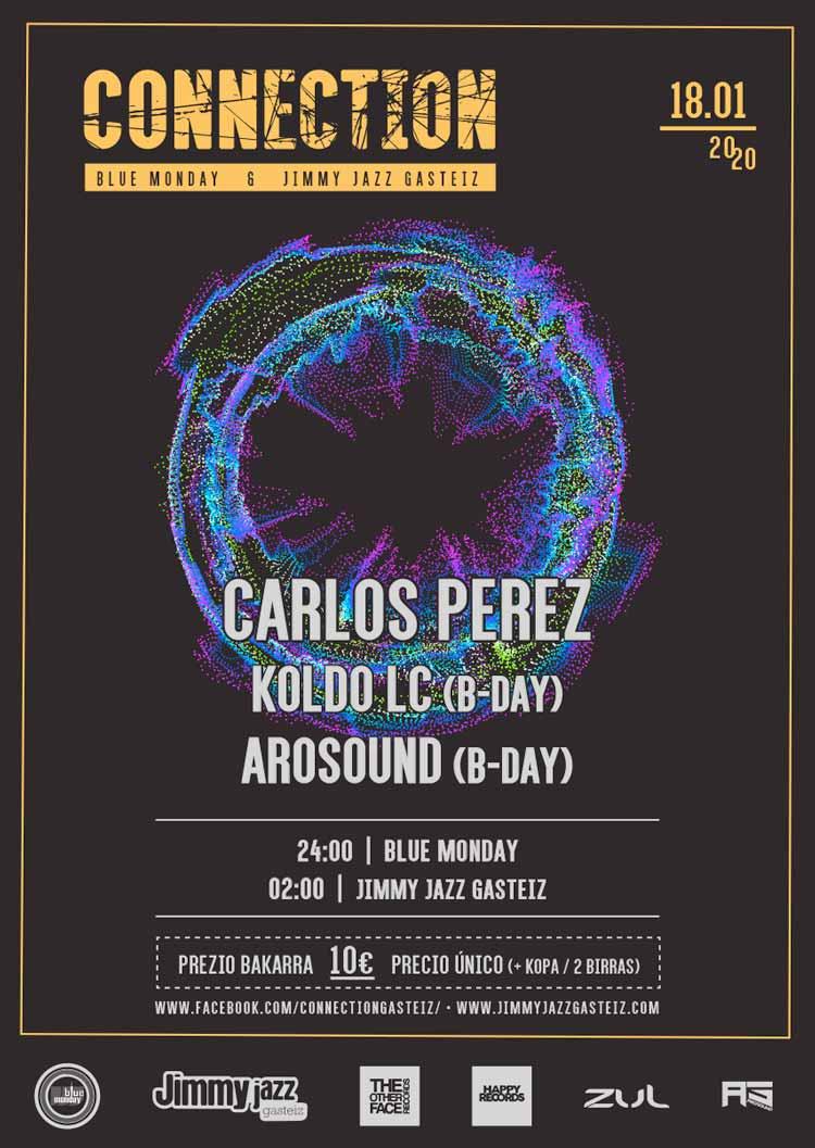 Connection: CARLOS PEREZ + KOLDO LC + AROSOUND #JjUPstairs