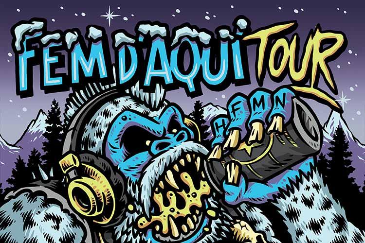 CRIM + LaInquisición + Deadyard - Fem D'Aquí TOUR - Jimmy Jazz Gasteiz