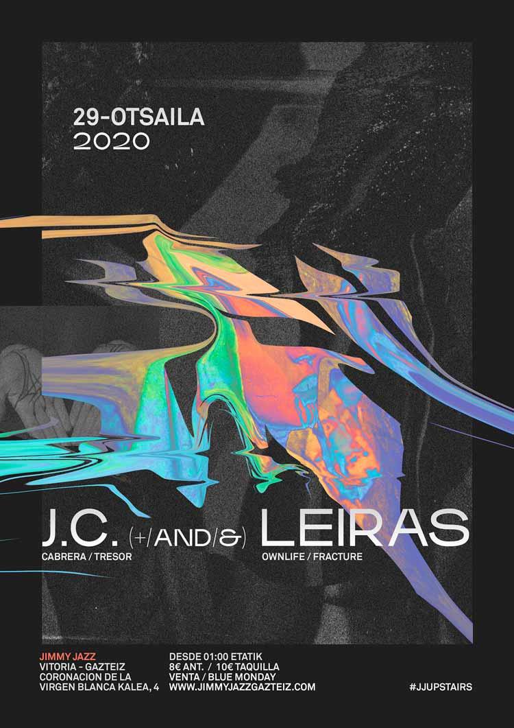 Leiras + J.C. #JjUPstairs