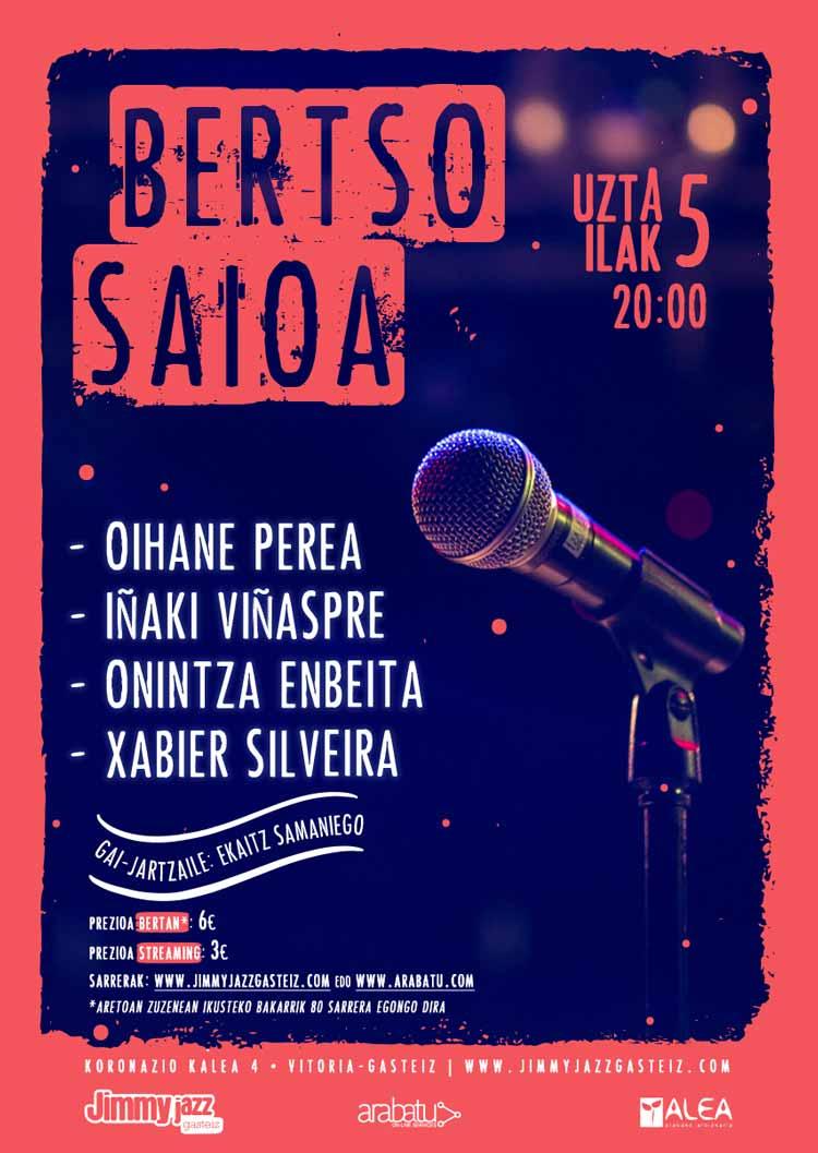 BERTSO SAIOA - Jimmy Jazz Gasteiz