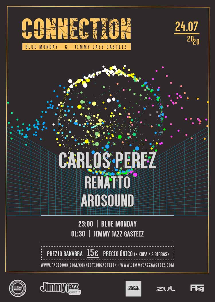 Connection: Carlos Perez + Renatto + Arosound #JjUPstairs