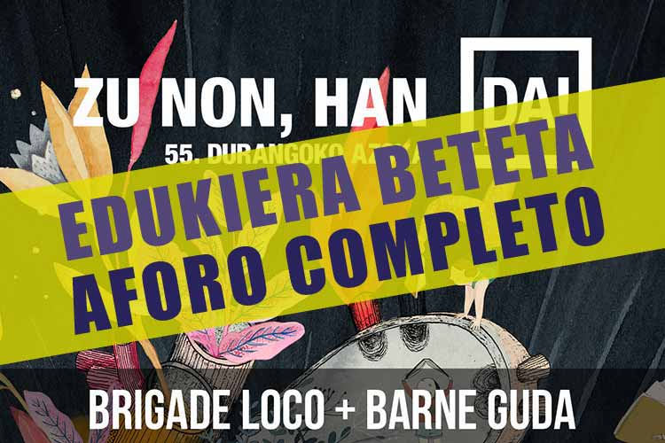 Brigade Loco + Barne Guda - Jimmy Jazz Gasteiz