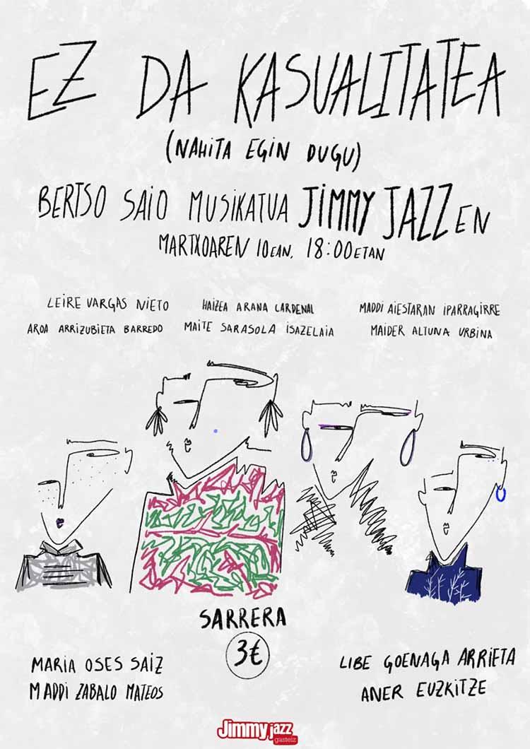 Bertso Saio Musikatua - Jimmy Jazz Gasteiz