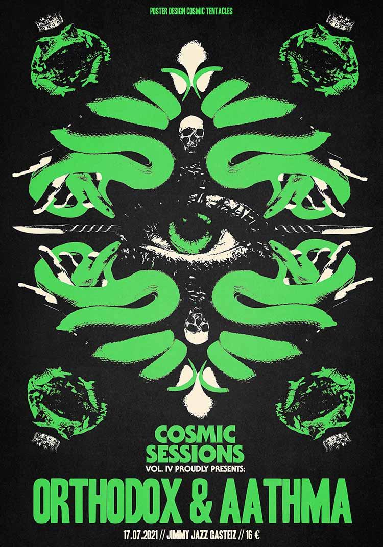Cosmic Sessions Vol.IV - ORTHODOX + AATHMA - Jimmy Jazz Gasteiz